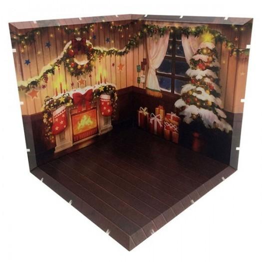 Dioramansion 150 Decorative Parts for Nendoroid and Figma Figures Christmas 15 x 15cm (EU)