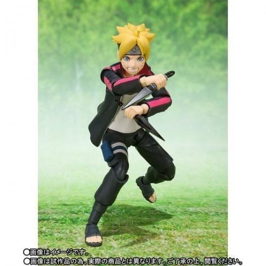 oruto: Naruto Next Generations - S.H. Figuarts Uzumaki Boruto 13cm Tamashii Web Exclusive