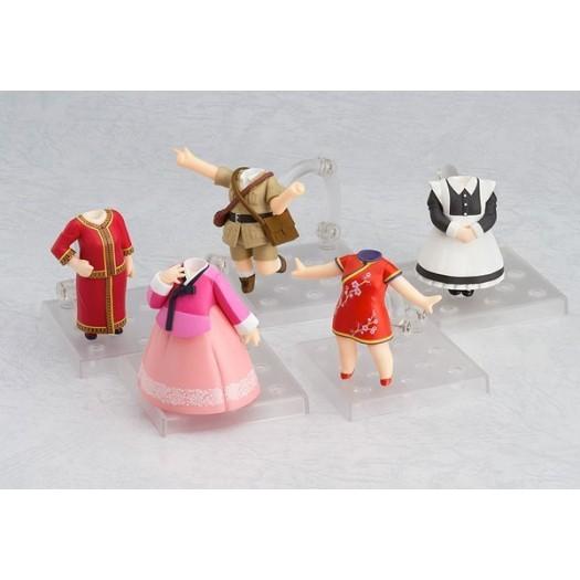 Love Live! Sunshine!! - Nendoroid More Dress Up World Image Girls Vol.1 SET 5 pezzi