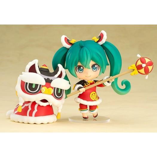 Vocaloid / Character Vocal Series 01 - Nendoroid Hatsune Miku Lion Dance Ver. 654 10cm Exclusive