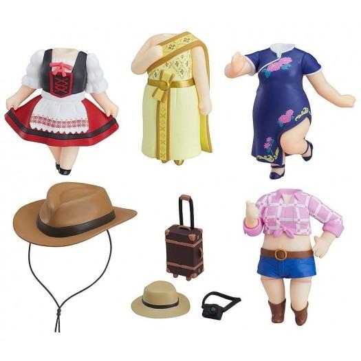 Love Live! Sunshine!! - Nendoroid More Dress Up World Image Girls Vol.2 4,5cm SET 5 pezzi