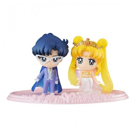Bishoujo Senshi Sailor Moon - Petit Chara! Neo Queen Serenity & King Endymion 5,5cm Exclusive