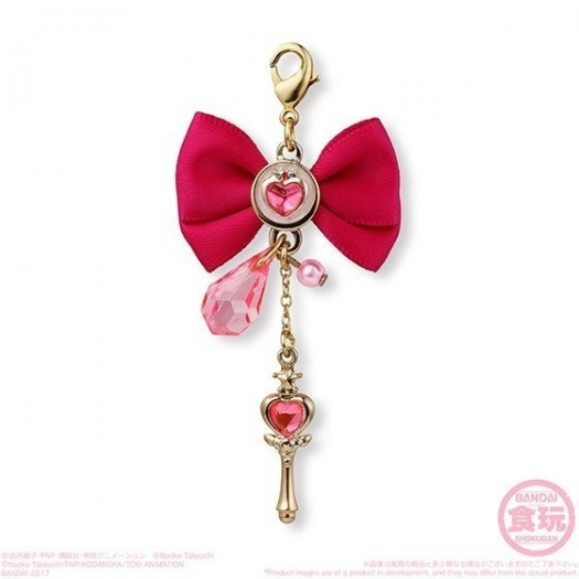 Bishoujo Senshi Sailor Moon - Ribbon Charm 2 Pink Moon Stick