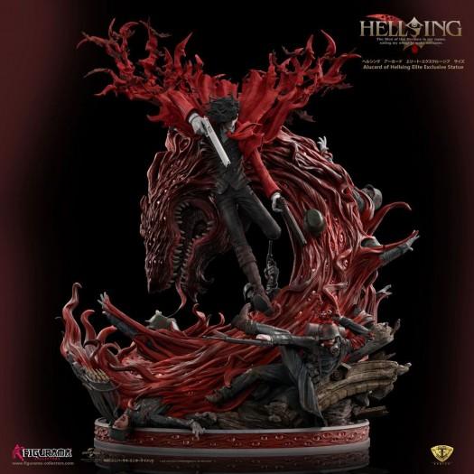 Hellsing Ultimate - Elite Exclusive Statue Alucard 1/4 67cm Polyresin