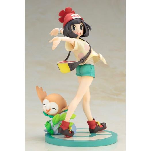 Pokemon Series - ARTFX J Selene (Mizuki) with Rowlet 1/8 20 - 6,5cm