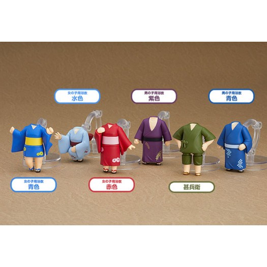 Nendoroid More: Dress Up Yukatas Box 6 pezzi