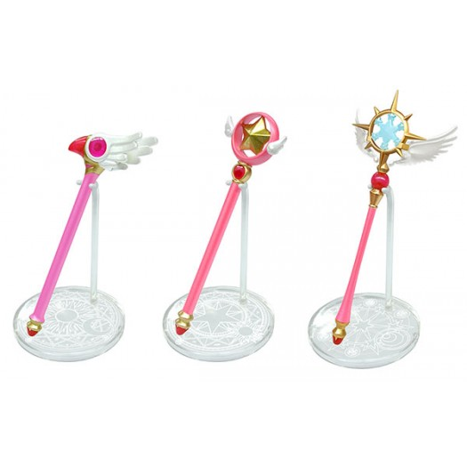 Cardcaptor Sakura - Stand Rod BOX 3 pezzi 11cm