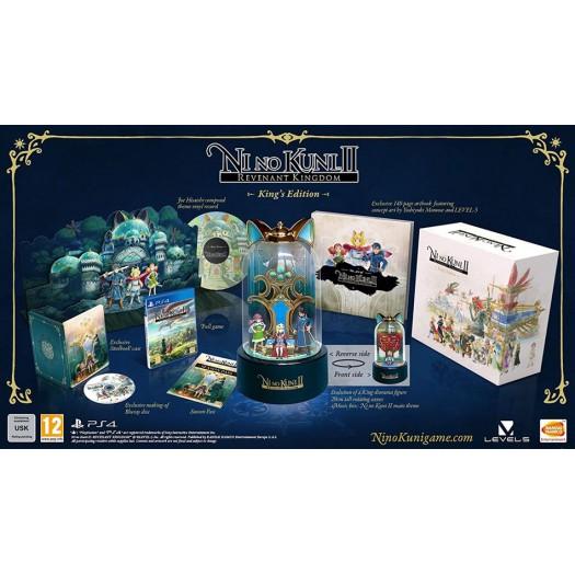 Ni No Kuni 2: Revenant Kingdom - King's Edition PS4 Ver.
