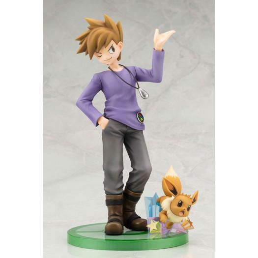 Pokemon Series - ARTFX J Okido Green with Eevee 1/8 19,5 - 5,5cm