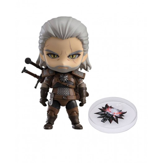 The Witcher 3: Wild Hunt - Nendoroid Geralt of Rivia 907 10cm (JP)
