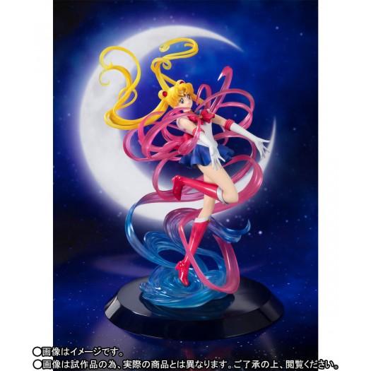 "Sailor Moon - Figuarts ZERO chouette Sailor Moon ""Moon Crystal Power, Make Up"" 25cm Tamashii Web Exclusive"