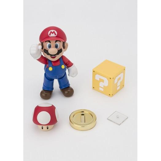 Super Mario - S.H. Figuarts Mario -New Pack- 10cm