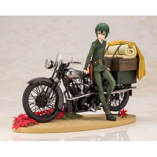 Kino no Tabi: The Beautiful World the Animated Series - ARTFX J Kino & Hermes 1/10 17cm w/First Press Bonus (JP)