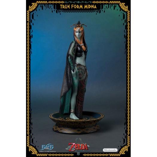 The Legend of Zelda: Twilight Princess - True Form Midna 1/4 43cm Polystone Statue