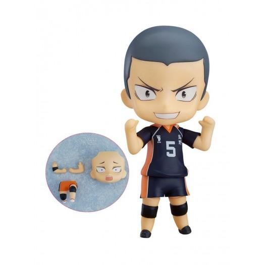 Haikyu!! - Nendoroid Tanaka Ryunosuke 945 & Nishinoya Yu Extra Parts Set 10cm