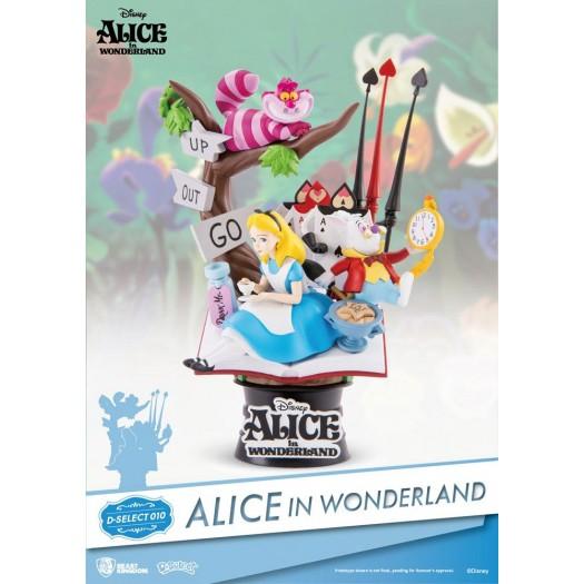 Alice in Wonderland D-Select 010 Diorama 15cm