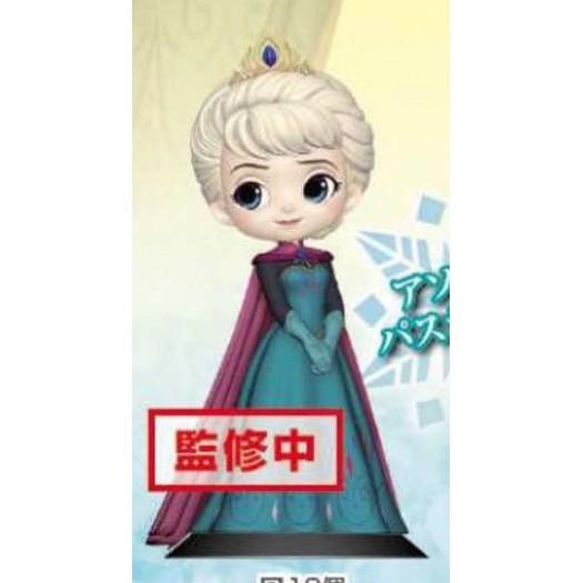 Frozen - Q Posket Elsa Coronation Style B Pearl Color Ver. 14cm