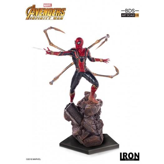 Avengers Infinity War - BDS Art Scale Statue Iron Spider-Man 1/10 26cm