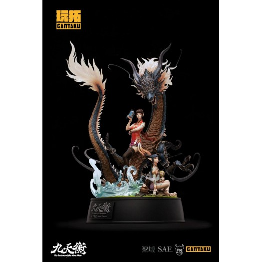 The Balance of Nine Skies  - Azure Dragon by PKking 1/7 50cm