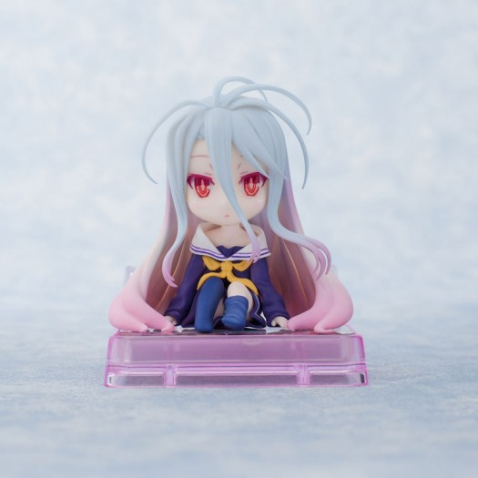 No Game No Life - Smartphone Stand Beautiful Girl Character Collection No. 11 Shiro 6,3cm