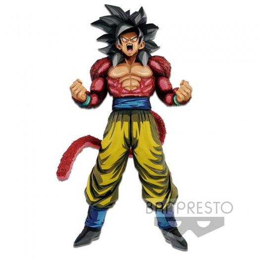 Dragonball GT - Master Stars Piece Super Saiyan 4 Son Goku Manga Dimensions 33cm