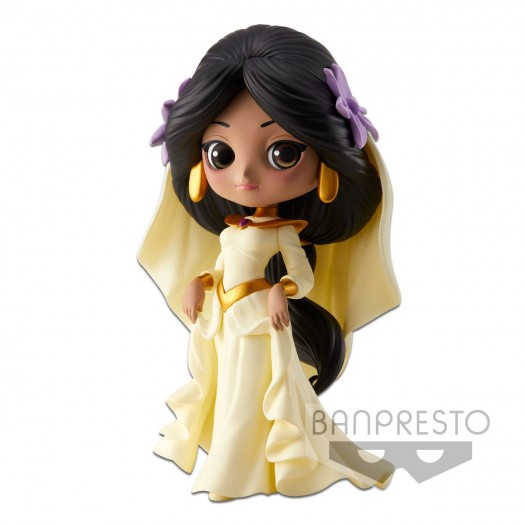 Aladdin - Q Posket Jasmine Dreamy Style A Normal Color Version 14cm