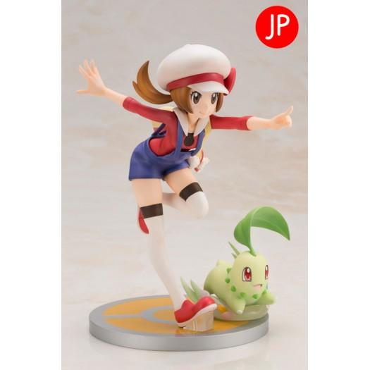 Pokemon Series - ARTFX J Kotone with Chikorita 1/8 17,5 - 6,5cm