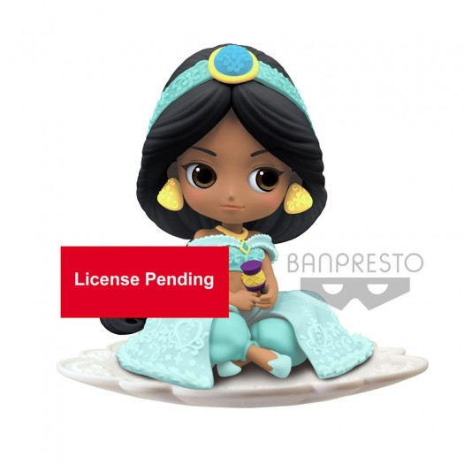 Aladdin - Q Posket Jasmine B Milky Color Version 9cm