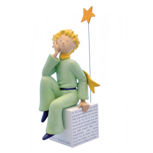 The Little Prince Dreaming Resin Statue 27cm