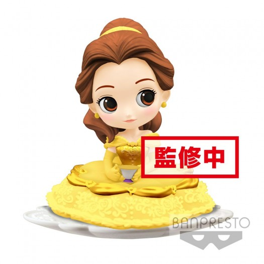 Beauty and the Beast - Q Posket SUGIRLY Belle A Normal Color Version 9cm