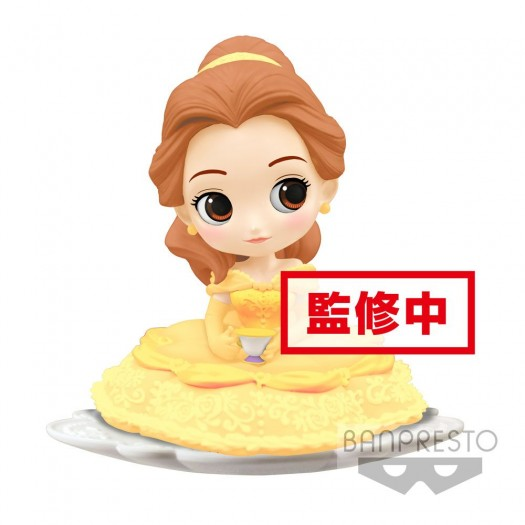 Beauty and the Beast - Q Posket SUGIRLY Belle B Milky Color Version 9cm