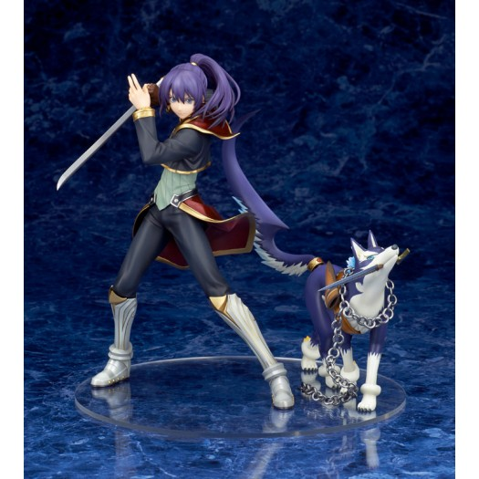 Tales of Vesperia - Yuri Lowell 1/8 Holy Knight in One's Heart Ver. & Repede 20-17cm Exclusive