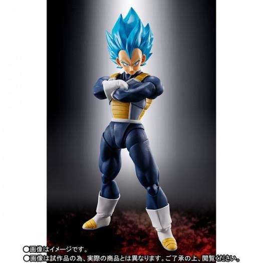 Dragon Ball Super Broly - S.H. Figuarts Vegeta SSJ God SS -Super- 13,5cm Tamashii Exclusive