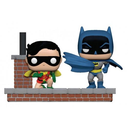 Batman - 80th POP! Moments Vinyl 2-Pack Look Batman & Robin (1964) 9cm
