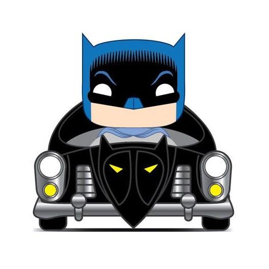 Batman - 80th POP! Rides Vinyl Figure 1950 Batmobile 15cm