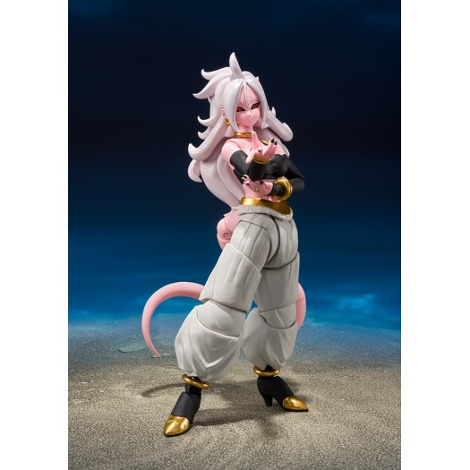 Dragon Ball FighterZ - S.H. Figuarts Android 21 14,5cm Tamashii Web Exclusive