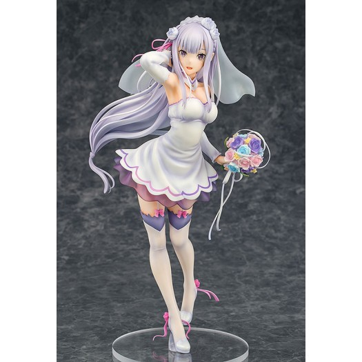 Re:Zero kara Hajimeru Isekai Seikatsu - Emilia 1/7 Wedding Ver. 25cm