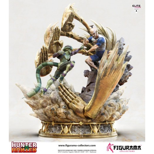 Hunter x Hunter - Elite Fandom Diorama Netero vs Meruem 1/6 76cm Polystone Statue