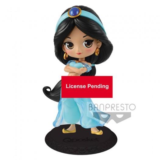 Aladdin - Q Posket Jasmine Princess Style Normal Color Ver. 14cm