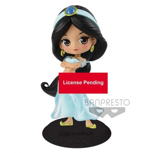 Aladdin - Q Posket Jasmine Princess Style Pastel Color Ver. 14cm