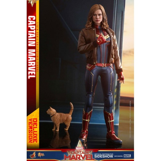 Captain Marvel - Movie Masterpiece Captain Marvel 1/6 Deluxe Ver. 29cm