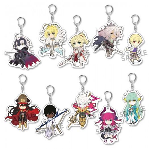 Fate/Grand Order - Pikuriru! Trading Acrylic Key Chain Vol. 3 (RANDOM Character) 8x5 cm