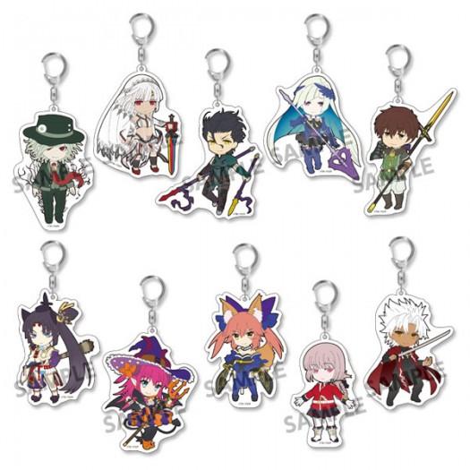 Fate/Grand Order - Pikuriru! Trading Acrylic Key Chain Vol. 4 (RANDOM Character) 8x5 cm