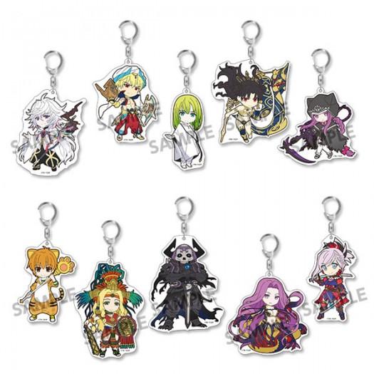 Fate/Grand Order - Pikuriru! Trading Acrylic Key Chain Vol. 5 (RANDOM Character) 8x5 cm