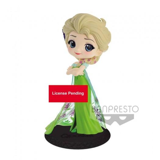 Frozen - Q Posket Elsa Surprise Coordinate Ver. A 14cm