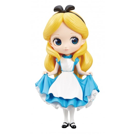 Alice in Wonderland - Q Posket Alice A Normal Color Version 14cm