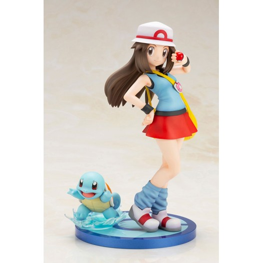 Pokemon Series - ARTFX J Leaf with Squirtle 1/8 19 - 5cm (JP)
