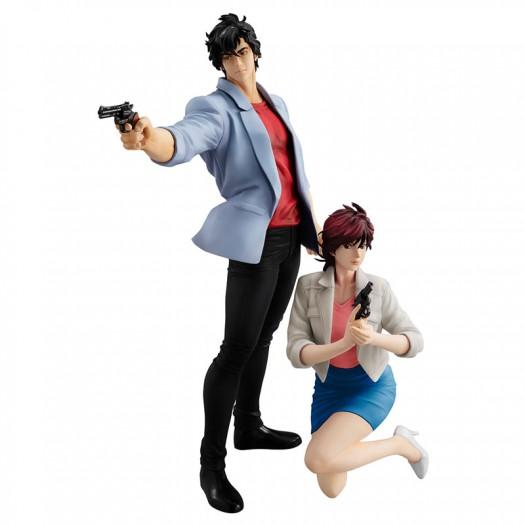 City Hunter The Movie: Shinjuku Private Eyes - G.E.M. Series Saeba Ryo & Makimura Kaori 25-17cm Exclusive