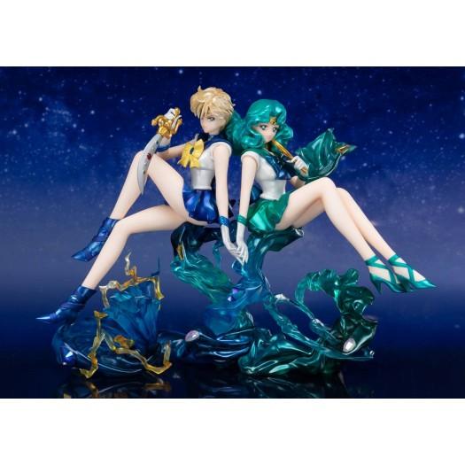 Bishoujo Senshi Sailor Moon - Figuarts ZERO chouette Sailor Uranus & Neptune 16,5cm Tamashii Web Exclusive