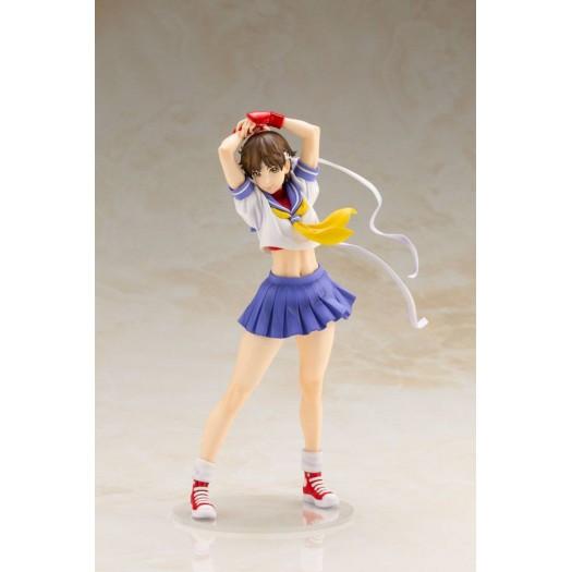 Street Fighter Zero 3 - Kasugano Sakura Bishoujo 1/7 Round 2 22cm (EU)